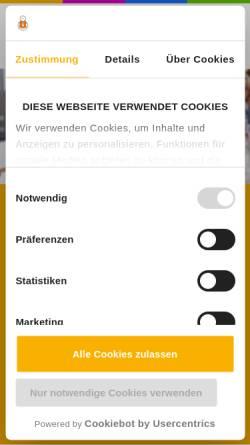 Vorschau der mobilen Webseite www.gewinnspieldetektiv.de, Gewinndetektiv.de - Kostenlose Gewinnspiele im Netz