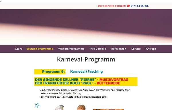 Vorschau von www.fasching-carneval-musik-vortrag.de, Der Musik Vortrag Fasching-Carneval-Kampagne