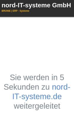 Vorschau der mobilen Webseite www.brunie.de, Brunie Unternehmensberatung und Informationsmanagement GmbH