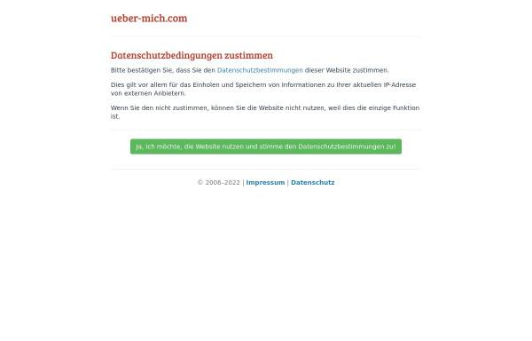 Vorschau von www.ueber-mich.com, Eigene IP Adresse ermitteln