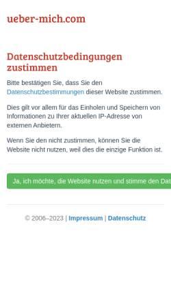 Vorschau der mobilen Webseite www.ueber-mich.com, Eigene IP Adresse ermitteln