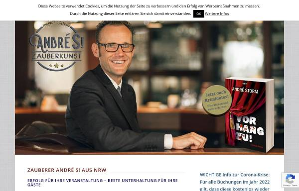 Vorschau von www.zauberer-andre.de, André eS!
