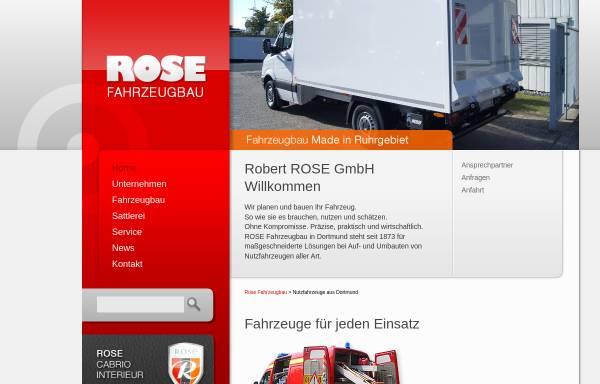 Vorschau von www.rose-fahrzeugbau.de, Rose Fahrzeugbau