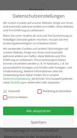 Vorschau der mobilen Webseite www.drhoerl.de, Dr. H. W. Hörl