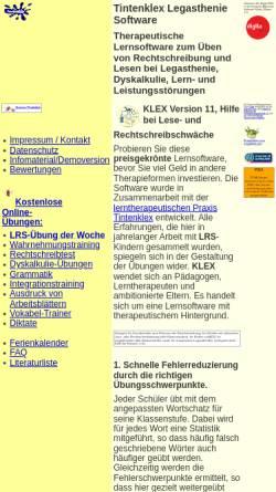 Vorschau der mobilen Webseite www.legasthenie-software.de, Dipl.-Ingenieur Jürgen Frerichs