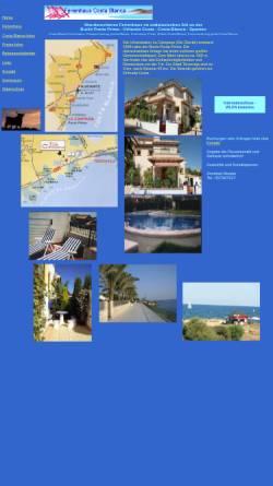 Vorschau der mobilen Webseite www.sonnenland-spanien.de, Wunderschönes Ferienhaus im andalusischen Stil an der Costa Blanca