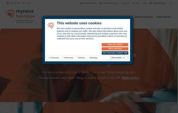 Vorschau von www.heimbas.de, Heimbas by Basic-EDV GmbH