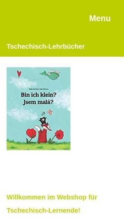 Vorschau der mobilen Webseite www.sebelova.at, Sprachtrainerin für Tschechisch