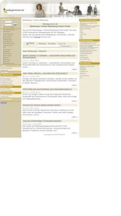 Vorschau der mobilen Webseite www.webagenturen.de, Webagenturen einfach finden