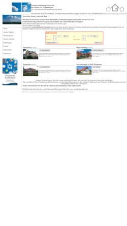 Vorschau der mobilen Webseite www.ferienvermietung-online.de, Boltenhagen - Ihr Ostsee Urlaub direkt am Strand