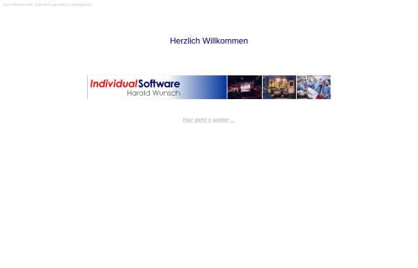 Vorschau von www.inso-wunsch.de, IndividualSoftware Harald Wunsch