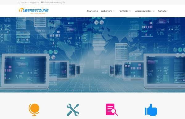 Vorschau von it-uebersetzung.de, IT Übersetzung