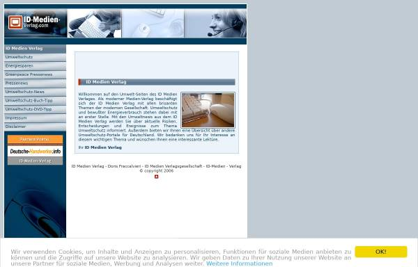 Vorschau von www.id-medien-verlag.com, ID Medien Verlag