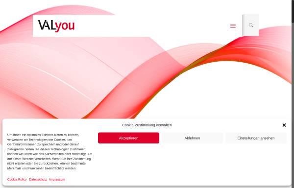 Vorschau von www.valyou.de, VALyou Software GmbH