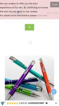 Vorschau der mobilen Webseite www.e-druck.de, E-DRUCK