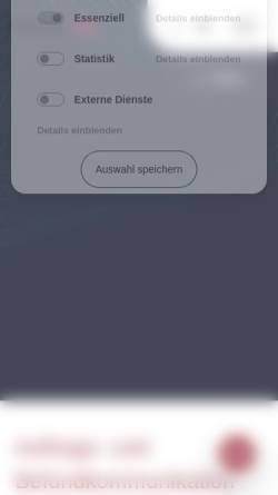 Vorschau der mobilen Webseite www.onlab.de, On-Lab GmbH