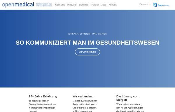 Vorschau von www.openmedical.ch, OpenMedical AG