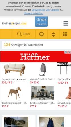 Vorschau der mobilen Webseite www.snowboard-onlineshop.eu, Inferno Boarders Shop