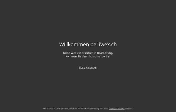 Vorschau von www.iwex.ch, iwex ag - Informations- und Wissensmanagement