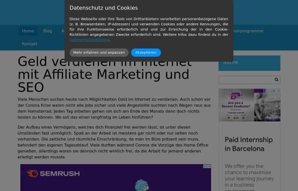 Vorschau von www.online-marketing-news.de, Online Marketing News Blog