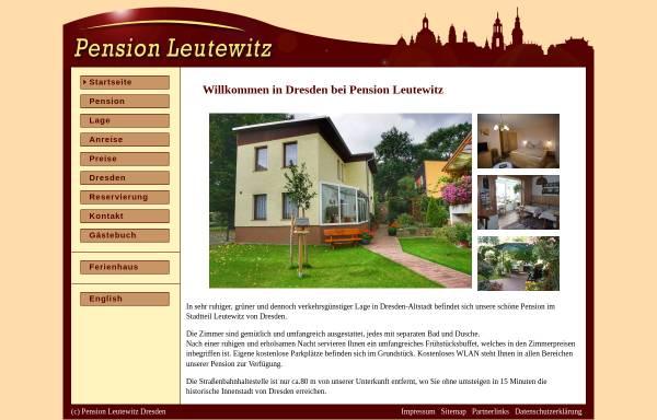 Vorschau von www.tyrian.de, Pension Tyrian Dresden