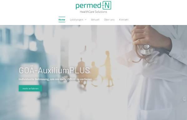 Vorschau von www.permed.de, PERmed Gesundheitsprodukte GmbH