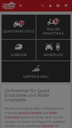 Vorschau der mobilen Webseite www.scooter-paradise.de, Scooter-Paradise.de