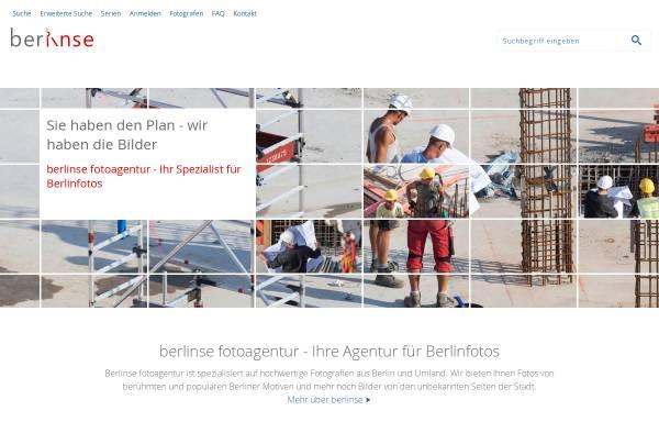 Vorschau von www.berlinse.de, berlinse fotoagentur