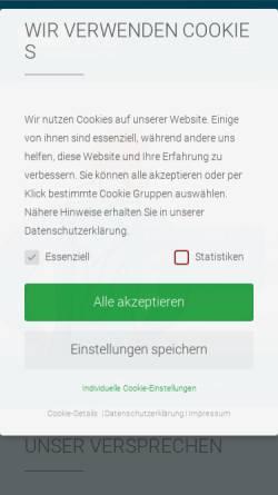 Vorschau der mobilen Webseite www.ganymed.at, Schachner & Schlemmer GmbH