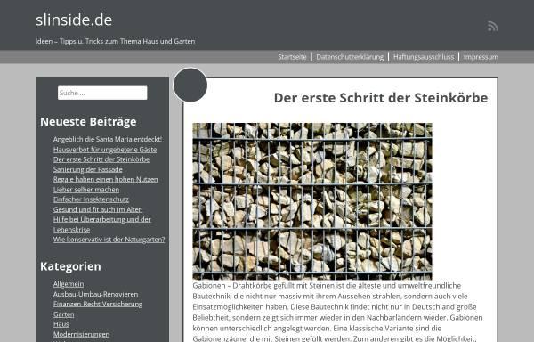 Vorschau von www.slinside.de, Das deutschsprachige Second Life Portal