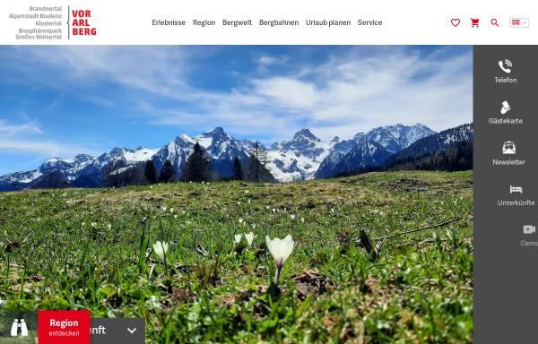 Vorschau von www.alpenregion.at, Urlaub in Vorarlberg - Alpenregion Bludenz