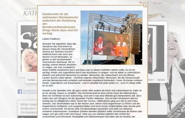 Vorschau von www.kathrin-eipert.de, Saxophonistin Kathrin Eipert