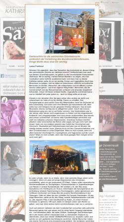 Vorschau der mobilen Webseite www.kathrin-eipert.de, Saxophonistin Kathrin Eipert