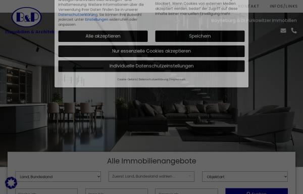 Vorschau von www.bpimmobilien.at, B&P Immobilien Graz