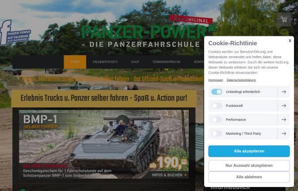 Vorschau von www.panzer-power.de, Panzer Power