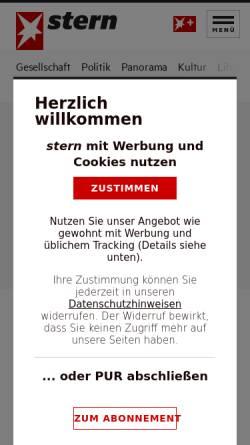 Vorschau der mobilen Webseite www.stern.de, Ratgeber Allergie