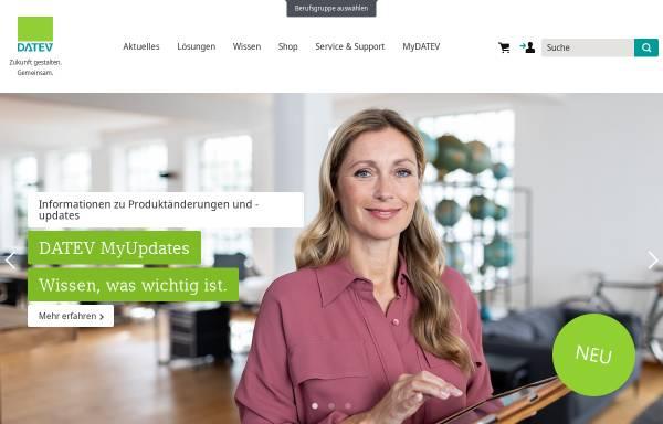 Vorschau von www.datev.de, DATEV - Softwarelösungen für Unternehmen
