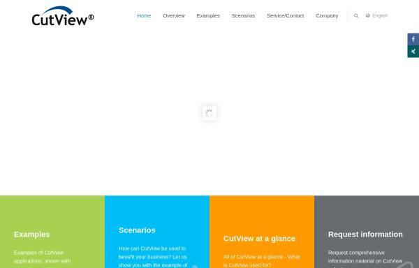 Vorschau von www.cutview.de, Cutview® by Ingenieurbüro Reinhard Thomann