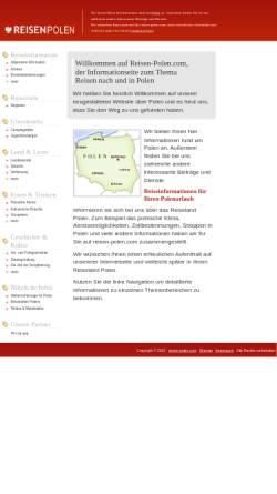 Vorschau der mobilen Webseite www.reisen-polen.com, Reisen-Polen.com - Willkommen in Polen!