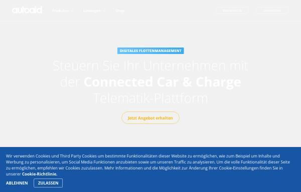 Vorschau von www.autoaid.de, autoaid.de – Online-Kfz-Diagnose & Werkstatt-Portal