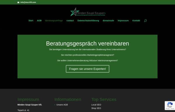 Vorschau von www.maiercss.de, Dr. Maier CSS GmbH & Co. KG