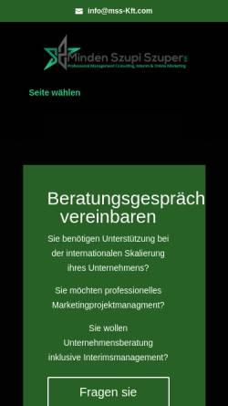 Vorschau der mobilen Webseite www.maiercss.de, Dr. Maier CSS GmbH & Co. KG
