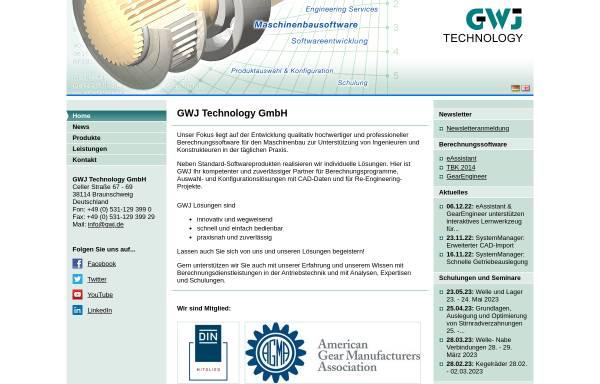 Vorschau von www.gwj.de, EAssistant by GWJ Technology GmbH