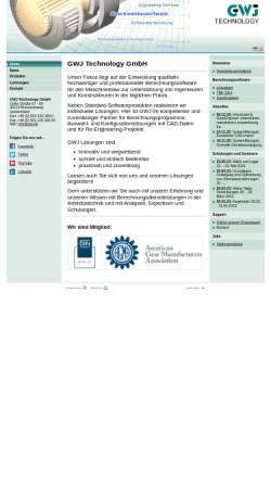 Vorschau der mobilen Webseite www.gwj.de, EAssistant by GWJ Technology GmbH