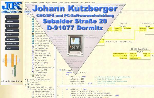 Vorschau von www.jk-application.de, JK Application - Johann Kutzberger