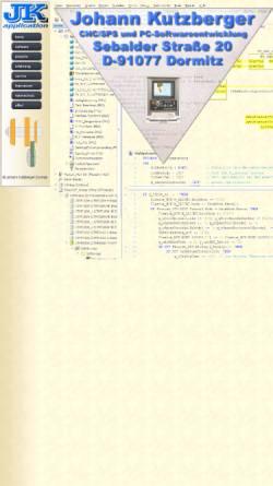 Vorschau der mobilen Webseite www.jk-application.de, JK Application - Johann Kutzberger