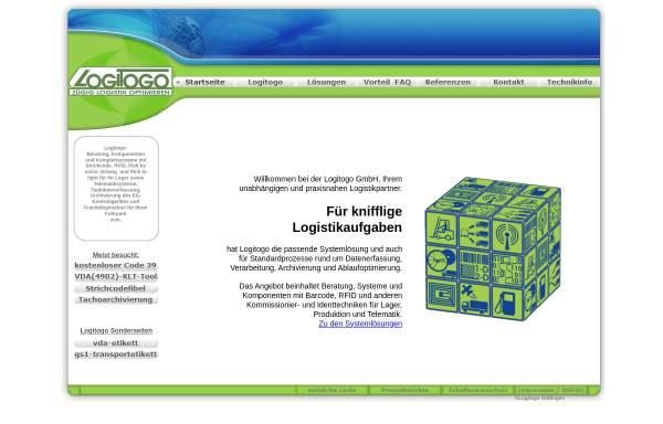 Vorschau von www.logitogo.com, Logitogo GmbH