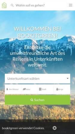 Vorschau der mobilen Webseite www.bio-natur-urlaub.de, Bio- und Natur-Urlaub