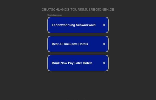 Vorschau von www.deutschlands-tourismusregionen.de, Die Tourismusregionen Deutschlands