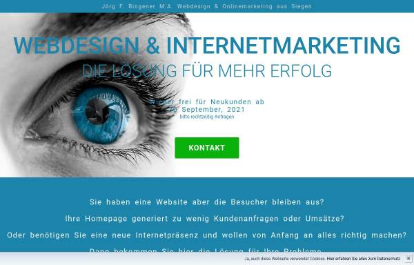 Vorschau von www.visualscreen.net, VisualScreen - Webdesign & Internet-Marketing